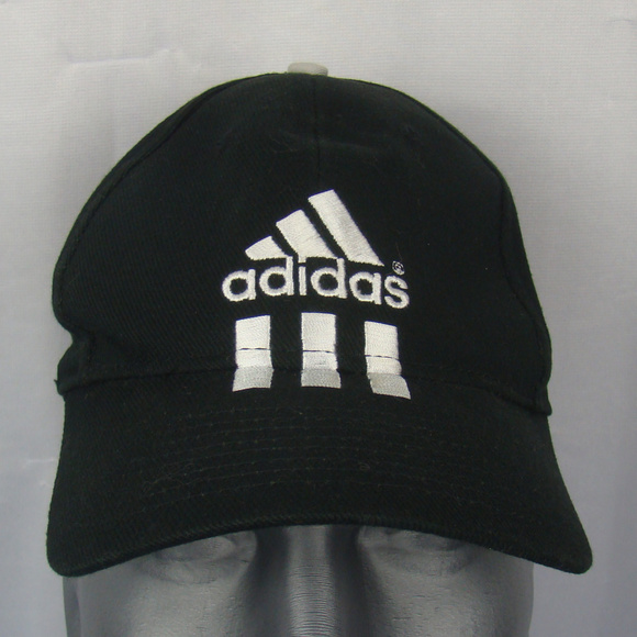 25bb2c73a95 adidas Other - Adidas Black baseball hat cap logo adjustable